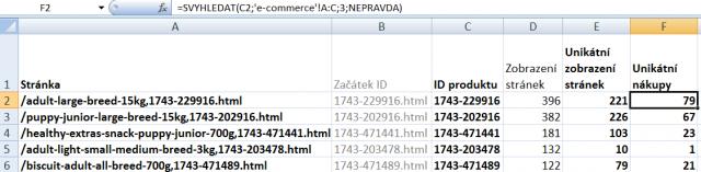 Příprava dat v Excelu