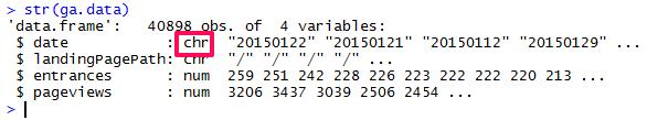 API vrací dimenzi ga:date v nevhodném formátu
